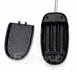 Портативный светильник-лампа с клипсой 28 LED черный, фото 9