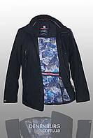 Куртка мужская демисезонная MALIDINU MC-17161 тёмно-синяя