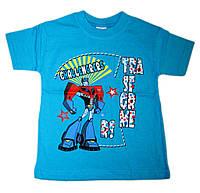 """Хлопковая детская футболка """"Transformers"""" (от 1 до 3 лет)"""