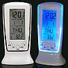 Часы, будильник, дата, температура, подсветка, 0510