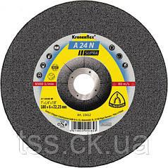 ОБДИРОЧНЫЙ (Зачистной) ДИСК круг INOX A 24 N SUPRA ПО НЕРЖАВЕЮЩЕЙ СТАЛИ 125X6X22,23 (2922)