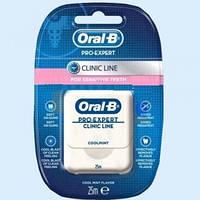Зубная нить Oral-B Pro-Expert Clinic Line Прохладная мята 25 м