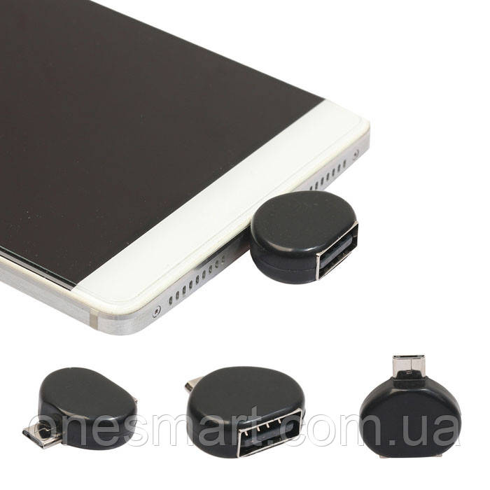 Адаптер OTG перехідник MicroUSB на USB