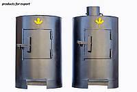 Печь-буржуйка  Канада (Canada ) 1 горизонтальный дымоход от производителя