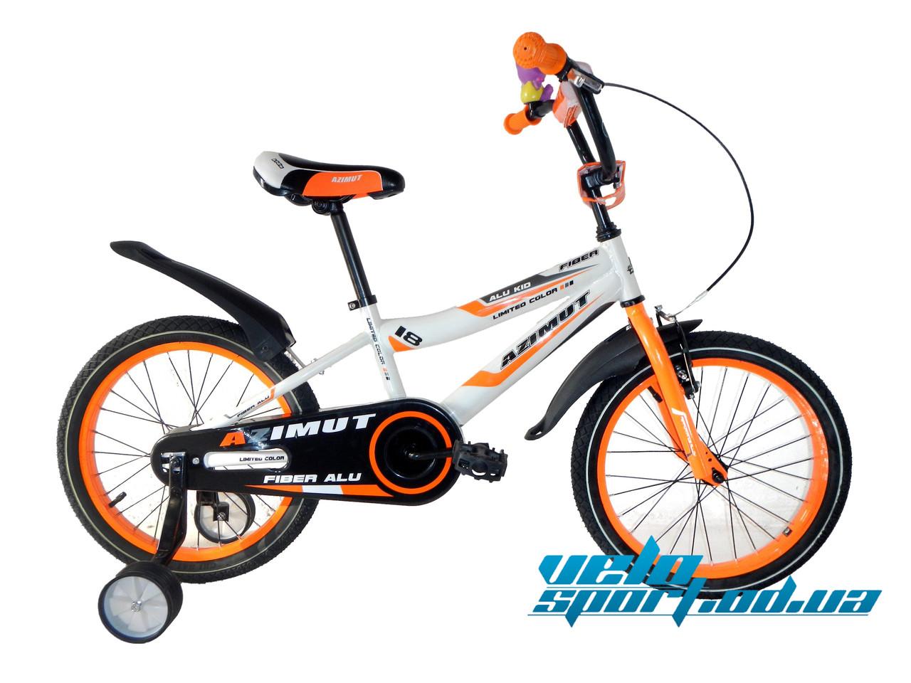 """Детский велосипед Azimut Fiber-18"""" -   Интернет-магазин """"VELOSPORT.OD.UA""""  в Одессе"""