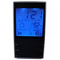 Настольные часы метеостанция st-8007 с термометром, гигрометром, подсветкой, фото 1