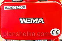 Дизельный мотоблок Weima WM1100A (ручной стартер, 6 л.с., колеса 4.00-10) , фото 3