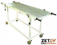 Тележка каталка со съемными носилками КТзн для перевозки больных