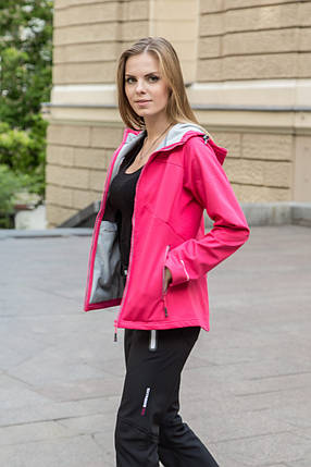 Куртка женская Freever 6601 (soft shell), фото 2