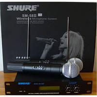 Радиосистема SM58 - II, Микрофон SHURE, Радиосистема SHURE, Вокальная радиосистема, Беспроводный микрофон