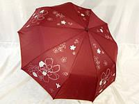 Зонты однотонные с цветочным декором № 114 от Max Komfort