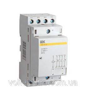 Контактор модульний КМ20-40 AC IEK
