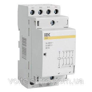 Контактор модульний КМ63-11 AC IEK