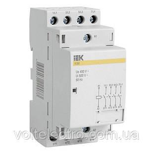 Контактор модульний КМ63-20 AC IEK