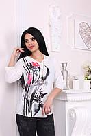 Кофта женская креп-шифон Турция