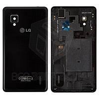 Задняя крышка батареи для мобильных телефонов LG E975 Optimus G, черная