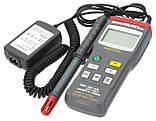 Цифровой термо-гигрометр Mastech MS6505 (Temp: от -20 °C до +60 °C; RH: 0-100%) с выносным датчиком, ПО, фото 2