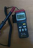 Цифровой термо-гигрометр Mastech MS6505 (Temp: от -20 °C до +60 °C; RH: 0-100%) с выносным датчиком, ПО, фото 7