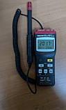 Цифровой термо-гигрометр Mastech MS6505 (Temp: от -20 °C до +60 °C; RH: 0-100%) с выносным датчиком, ПО, фото 8