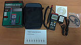Цифровой термо-гигрометр Mastech MS6505 (Temp: от -20 °C до +60 °C; RH: 0-100%) с выносным датчиком, ПО, фото 10