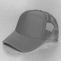 Темно-серая кепка тракер