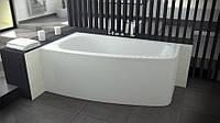 Ванна акриловая LUNA 150х80 BESCO левосторонняя