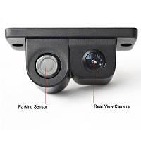 Камера заднего вида + датчи парковки 2 в 1