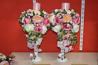 Венчальные свечи на подставки