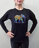 """Женский свитшот """"Слон"""""""