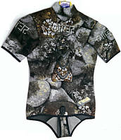 Неопреновая футболка для подводной охоты Omer Camu 3D; толщина 3 мм; размер VI