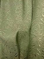 Шторы, портьеры, ткань портьерная для штор Роза ширина 1.5м
