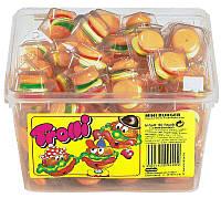Желейные конфеты Мини Бургер Тролли  Mini Burger Trolli 1000гр. 60шт.