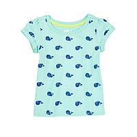 Детская футболка для девочки. 12-18, 18-24 месяца, 2 года.