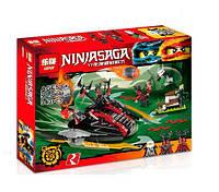 Конструктор Lepin серия NINJA SAGA / Ниндзя 06044 Алый захватчик (аналог Lego Ninjago 70624)