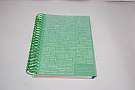 Блокнот A5 c разделителями Axent, 80 л; , спираль, фото 1