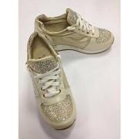 Кроссовки - туфли для девочки Emilia золото