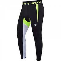 Штаны компрессионные RDX Lycra Green M