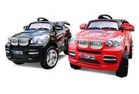 Детский электромобиль BMW, пульт, надувные колеса
