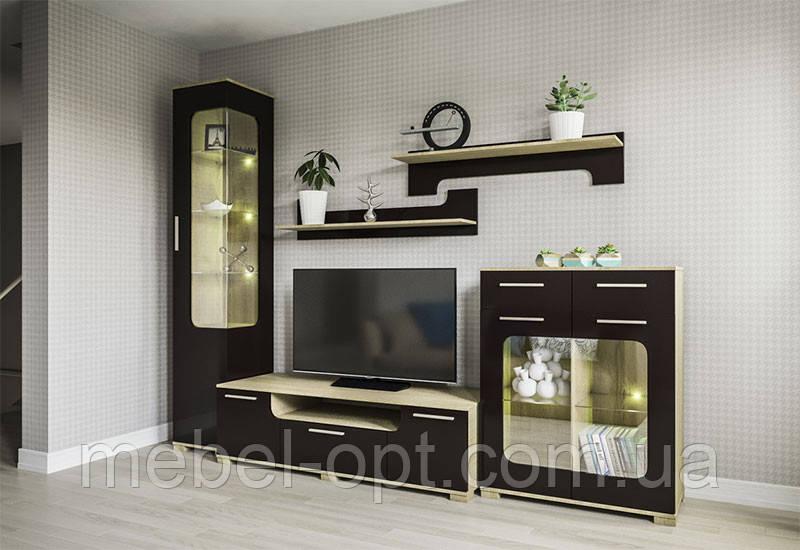 Стенка в гостинную Винкс, готовая мебель в гостинную