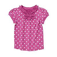 Детская футболка для девочки 12-18 месяцев
