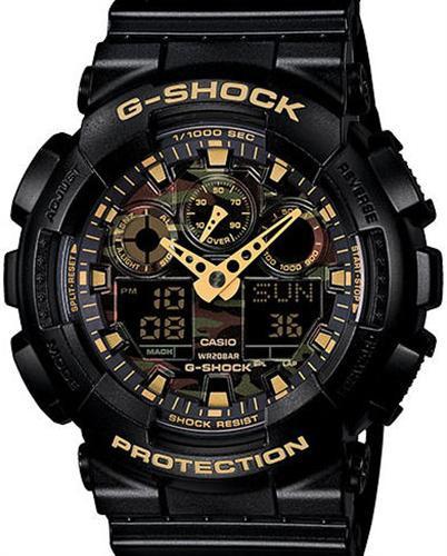 Часы мужские Casio G-Shock GA-100CF-1A9ER