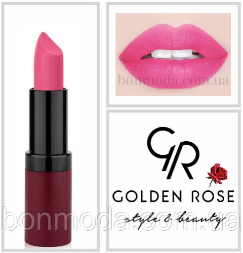 Матовая Помада Golden Rose 8 Velvet Matte № 08
