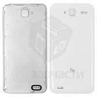 Задняя крышка батареи для мобильного телефона Fly IQ446 Magic, белая, original, #314100579