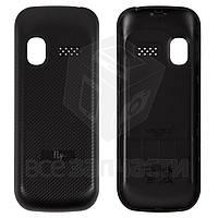 Задняя крышка батареи для мобильного телефона Fly DS106D, черная, original, #585S33501010