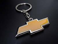 Брелок на ключи с логотипом Chevrolet (Шевроле) двухсторонний