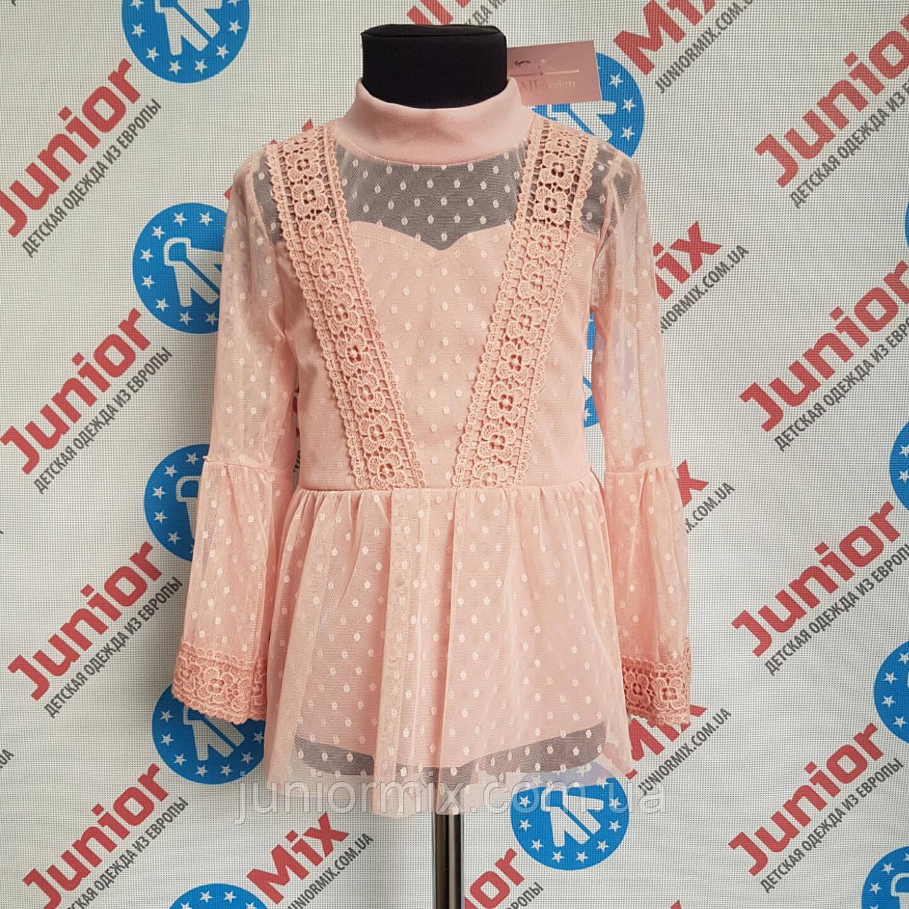 Блузка нарядная на девочку AJJ desingn
