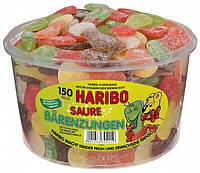 Желейные конфеты Медвежьи Язычки Харибо Haribo 1350гр. 150шт.