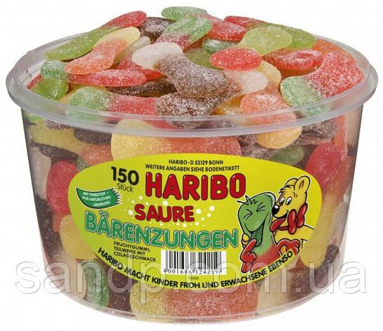 Желейные конфеты Медвежьи Язычки Харибо Haribo 1350гр. 150шт., фото 2