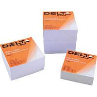 Блок бумаги для заметокбелая D8005Delta by Axent,90х90х80 мм