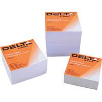 Блок бумаги для заметокбелая D8004Delta by Axent,90х90х30мм